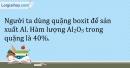 Bài 22.10 Trang 28 SBT Hóa học 9