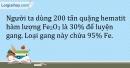 Bài 22.11 Trang 28 SBT Hóa học 9