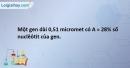 Bài 5 SBT Sinh học 12 trang 8
