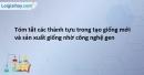 Bài 6 SBT Sinh học 12 trang 51