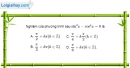 Bài 1.33 trang 38 SBT đại số và giải tích 11