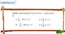 Bài 1.35 trang 39 SBT đại số và giải tích 11