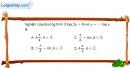 Bài 1.36 trang 39 SBT đại số và giải tích 11
