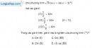 Bài 1.38 trang 39 SBT đại số và giải tích 11