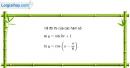 Bài 1.42 trang 40 SBT đại số và giải tích 11