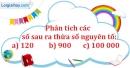 Bài 159 trang 26 SBT toán 6 tập 1