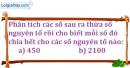 Bài 160 trang 26 SBT toán 6 tập 1