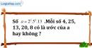Bài 161 trang 26 SBT toán 6 tập 1
