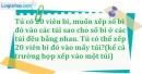 Bài 164 trang 26 SBT toán 6 tập 1
