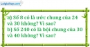 Bài 169 trang 27 SBT toán 6 tập 1