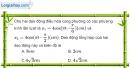 Bài 4.3, 4.4 trang 14 SBT Vật Lí 12