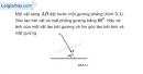 Bài 5.3 trang 15 SBT Vật lí 7