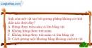 Bài 5.5 trang 16 SBT Vật lí 7
