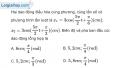 Bài 5.7 trang 14 SBT Vật Lí 12