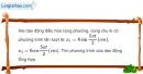 Bài 5.9 trang 15 SBT Vật Lí 12