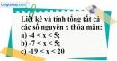 Bài 163 trang 94 SBT toán 6 tập 1