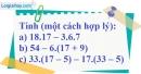 Bài 168 trang 94 SBT toán 6 tập 1