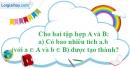 Bài 169 trang 94 SBT toán 6 tập 1