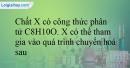 Bài 13.13 trang 29 SBT Hóa học 12