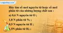 Bài 18.2 trang 26 SBT hóa học 8