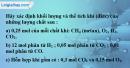 Bài 18.5 trang 26 SBT hóa học 8