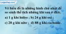 Bài 19.3 trang 27 SBT hóa học 8
