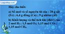 Bài 19.4 trang 27 SBT hóa học 8