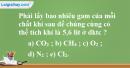 Bài 19.6 trang 27 SBT hóa học 8