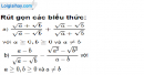 Bài 81 trang 18 SBT toán 9 tập 1