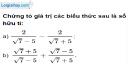 Bài 83 trang 19 SBT toán 9 tập 1