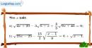 Bài 84 trang 19 SBT toán 9 tập 1