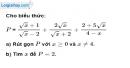 Bài 85 trang 19 SBT toán 9 tập 1