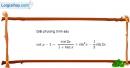 Bài 1.52 trang 40 SBT đại số và giải tích 11