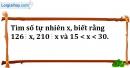 Bài 180 trang 28 SBT toán 6 tập 1