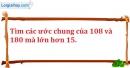 Bài 184 trang 29 SBT toán 6 tập 1