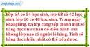 Bài 187 trang 29 SBT toán 6 tập 1