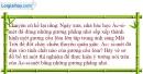 Bài 8.1 trang 21 SBT Vật lí 7