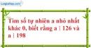 Bài 189 trang 30 SBT toán 6 tập 1