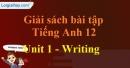 Writing - trang 11 Unit 1 SBT Tiếng anh 12 mới