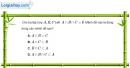 Bài 1.50 trang 19 SBT đại số 10