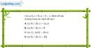 Bài 1.51 trang 20 SBT đại số 10