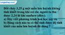 Bài 22.1 trang 29 SBT hóa học 8
