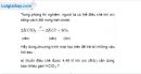 Bài 22.2 trang 29 SBT hóa học 8