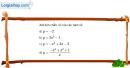 Bài 2.6 trang 31 SBT đại số 10