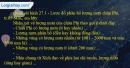 Câu 1 trang 62 SBT địa 7
