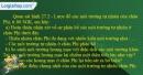 Câu 1 trang 64 SBT địa 7