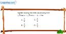 Bài 1.56 trang 41 SBT đại số và giải tích 11