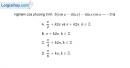 Bài 1.57 trang 41 SBT đại số và giải tích 11