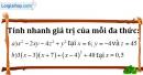 Bài 33 trang 10 SBT toán 8 tập 1