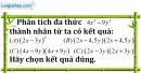 Bài 7.1 phần bài tập bổ sung trang 9 SBT toán 8 tập 1